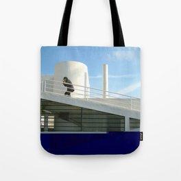 savoye glitch Tote Bag