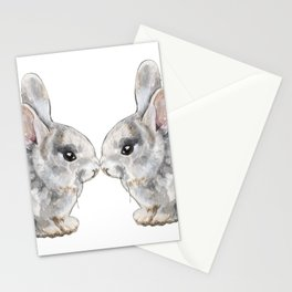 Bunny Love Stationery Cards