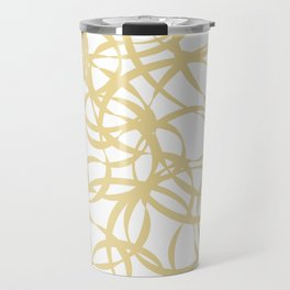 Golden Ribbons - Flow Travel Mug