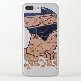 Helen Of Troy Clear iPhone Case