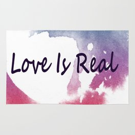 Love Is Real Rug