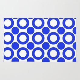 Dot 2 Blue Rug