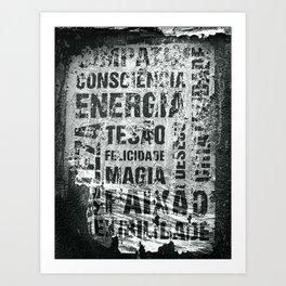 Energia Art Print