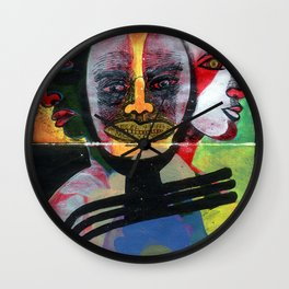 HOY ES EL 4 DE iii DE MCMXCVI Wall Clock