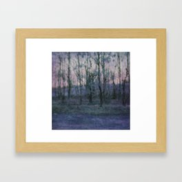 Unknown Land Framed Art Print