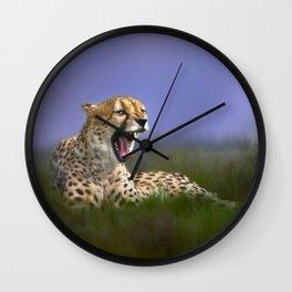 The Cheetah Wall Clock