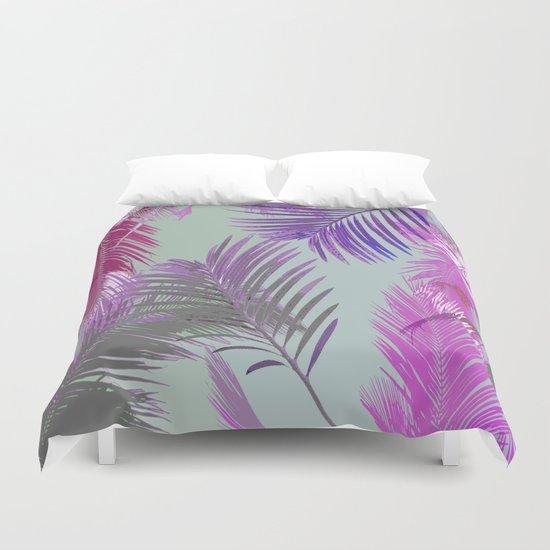 California Dreaming Purple Duvet Cover
