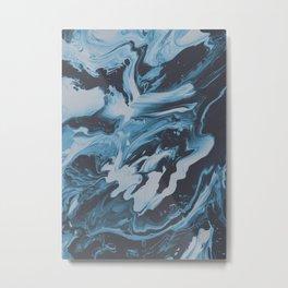SLEEP ON THE FLOOR Metal Print