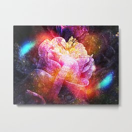 Wrap In Velvet Metal Print