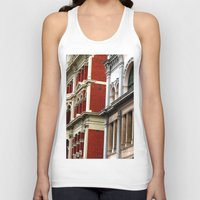 melbourne Tank Tops featuring Melbourne Heritage by Carmen