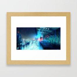 City Light Framed Art Print