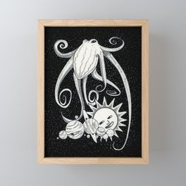 Octopus's Garden Framed Mini Art Print