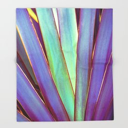 Fiesta Palm Throw Blanket