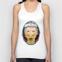 daria Tank Tops featuring crystal goddess by Daria Golab