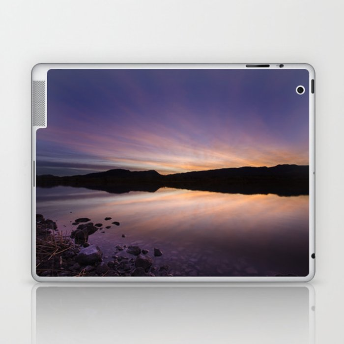 Pahranagat National Wildlife Refuge Sunset #2 Laptop & iPad Skin