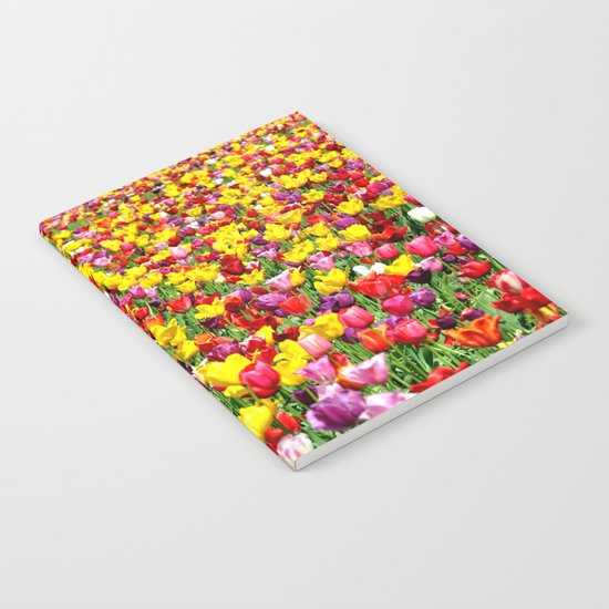 SEA OF TULIPS Notebook