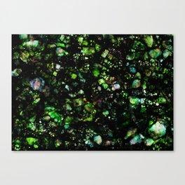 Nebula I, Emerald Canvas Print