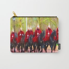 The Queens life guards on the Mall Carry-All Pouch
