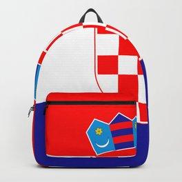 Flag of Croatia Backpack