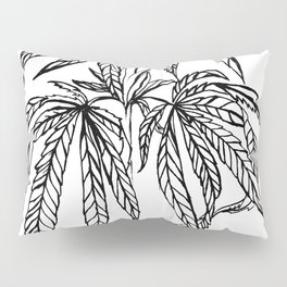 Cannabis Illustration Pillow Sham