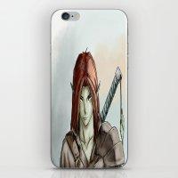 elf iPhone & iPod Skins featuring Elf by Robert Adam Sharp