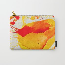 Orange Study Carry-All Pouch
