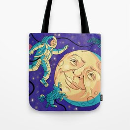 Trip to the Planetarium Tote Bag