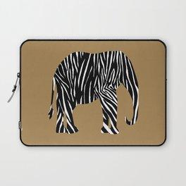 Zebra Elephant Safari Laptop Sleeve