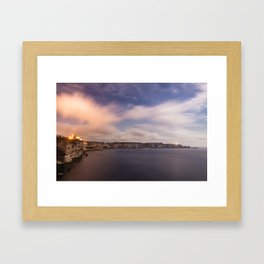 The wind of Corse Framed Art Print