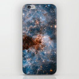 Into The Storm, Galaxy Background, Universe Large Print, Space Wall Art Decor, Deep Space Poster iPhone Skin