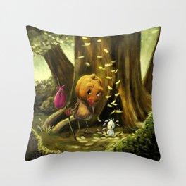 Squeak (Forever Halloween Collection) Throw Pillow
