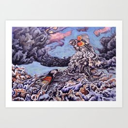 Fight or Flight Art Print