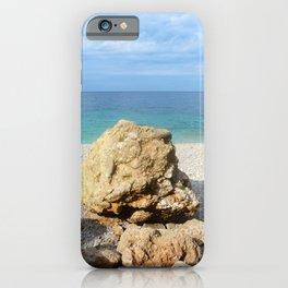SICILIAN SEA SOUND iPhone Case