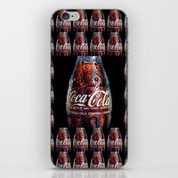 coca cola iPhone & iPod Skins featuring The Real... by LesImagesdeJon