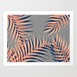 Palms Vision II #society6 #decor #buyart Art Print