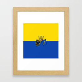 flag of Essen Framed Art Print