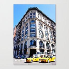 SoHo New York City Street Canvas Print