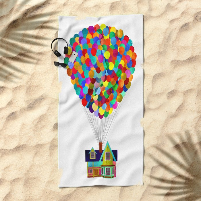 Disney's UP House Beach Towel