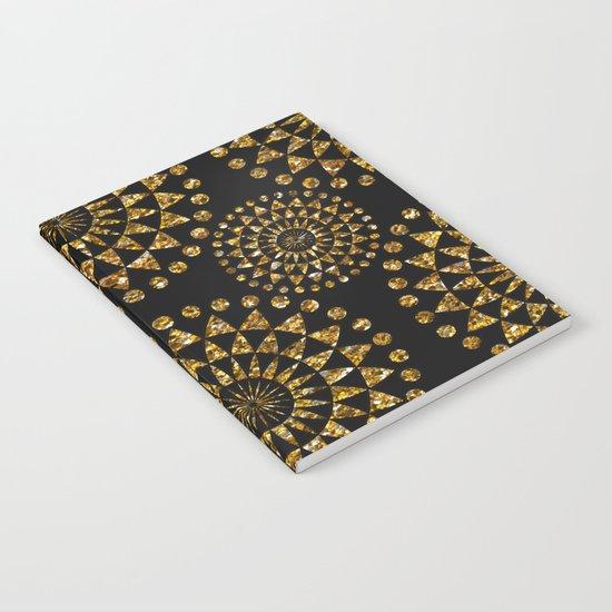 Gold and black elegance Notebook