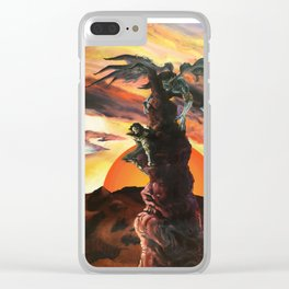 The Temptation Clear iPhone Case