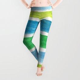 Sea Stripes Leggings