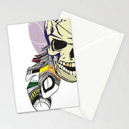 Indian Skull Stationery Cards