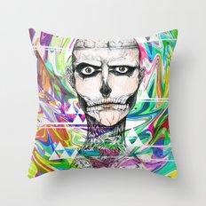 Rick Genest Throw Pillow