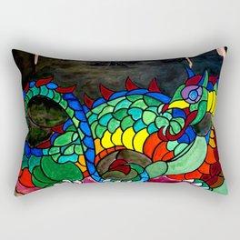 Draco, Dragon of the North Rectangular Pillow