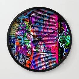 Street art Wall Clock
