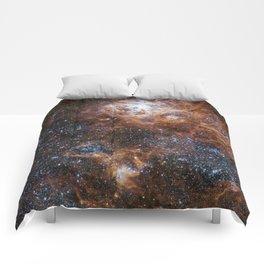 Tarantula Nebula in the Large Magellanic Cloud Comforters