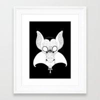 dracula Framed Art Prints featuring Dracula  by Ashton Dame