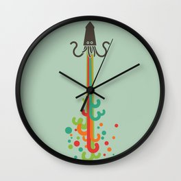 Kraken time Wall Clock