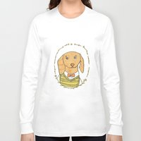 dachshund Long Sleeve T-shirts featuring Dachshund by MariyArti