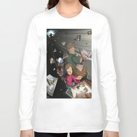 gravity falls Long Sleeve T-shirts featuring Gravity Falls Returns by Auraya Frost